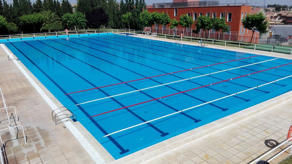 Medidas de una piscina olimpica awesome medidas de la for Piscina 8x4 cuantos litros