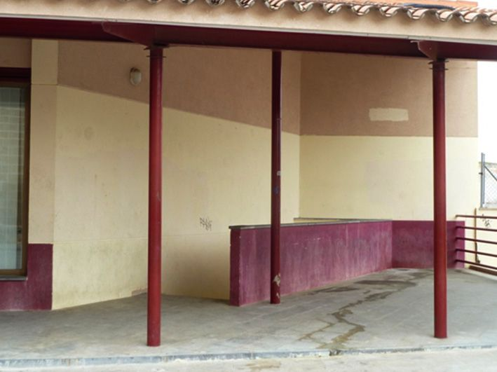 Intervenci n escuela taller apertura de hueco para for Oficina inaem compromiso de caspe
