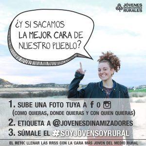 Campaña redes sociales Jóvenes Dinamizadores Rurales