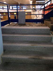 Escaleras Pabellón