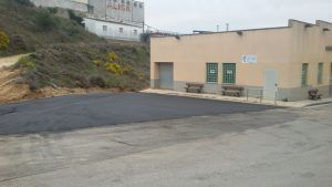 Asfaltado parking Tanatorio