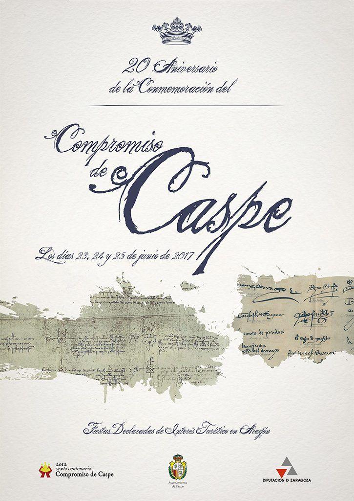 Presentado el cartel del compromiso de caspe 2017 for Oficina inaem compromiso de caspe