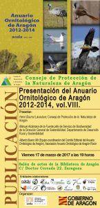 Presentación Anuario Ornitológico de Aragón