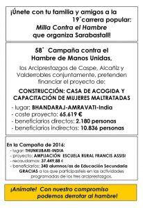 Sarabastall - Carreras contra el Hambre 2