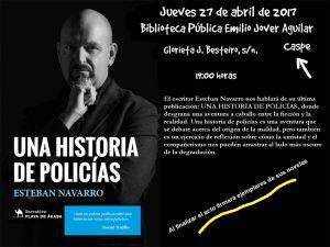 Presentación libro Esteban Navarro