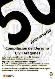 50 aniversario Derecho Aragonés