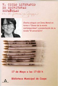 Biblioteca - Charla coloquio con Inma Monsó