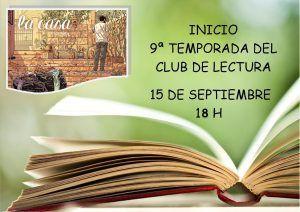 CARTEL SEPTIEMBRE club de lectura