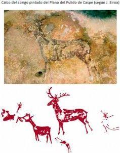 Pinturas levantinas del Plano del Pulido, entre el 6.000 y el 3.500 a. C