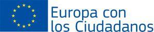 Logo Europa con los ciudadanos