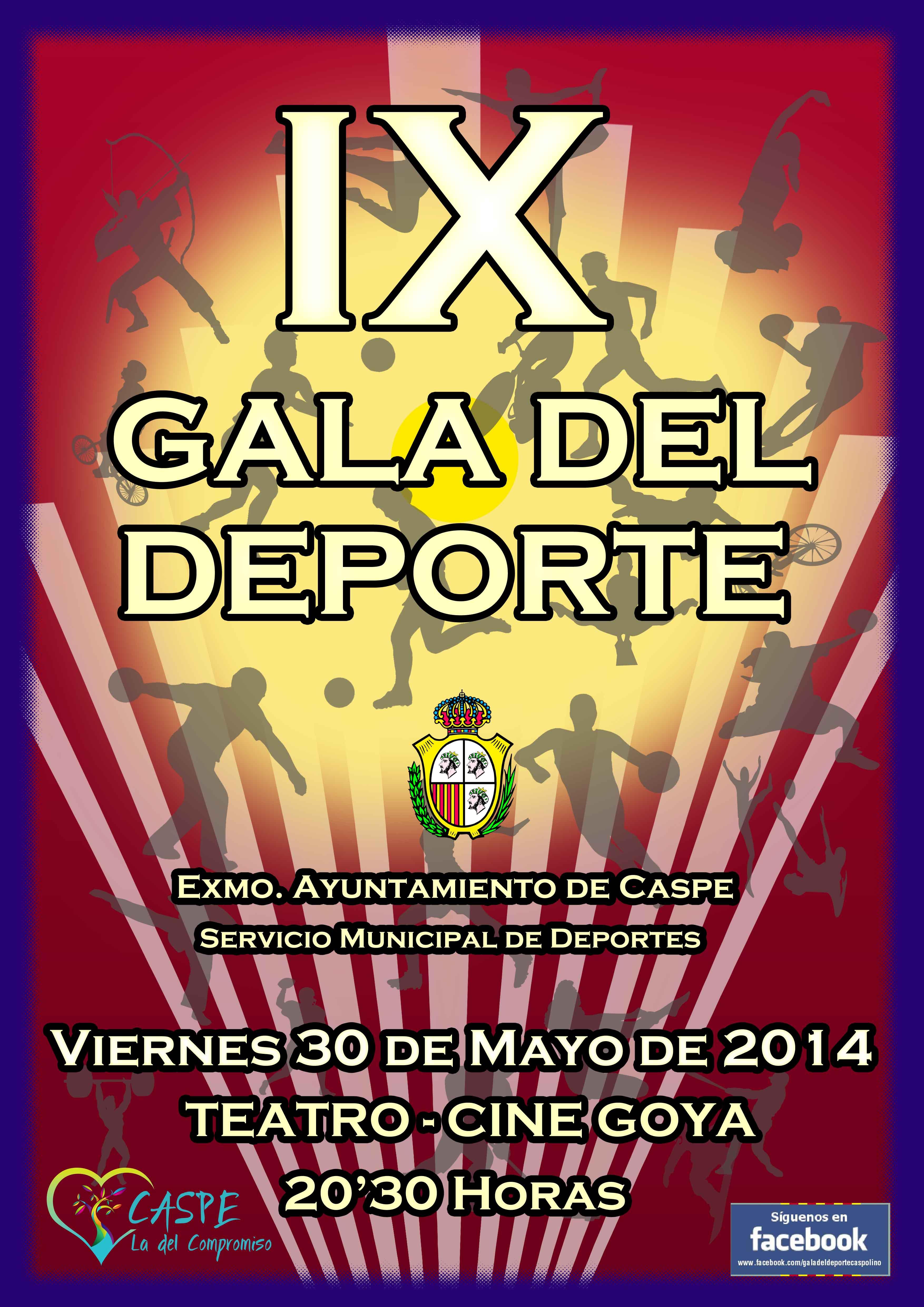 Cartel Gala Deporte 2014