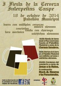 cartel fiesta de la cerveza
