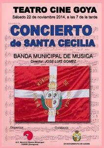 concierto santa cecilia 2014
