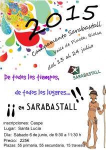 CARTEL SARABASTALL 2015
