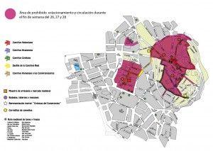 Mapa Compromiso de Caspe y Área de prohibido estacionamiento-01-01