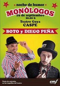 cartel monologos caspe