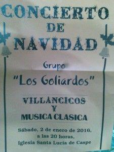 CONCIERTO NAVIDAD LOS GOLIARDOS