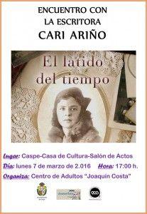 Microsoft Word - Encuentro con la escritora Cari Ariño.docx