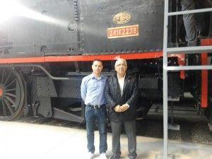 foto tren turístico