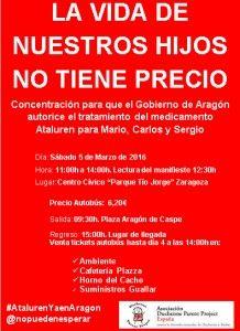 Concentración Ataluren Zaragoza