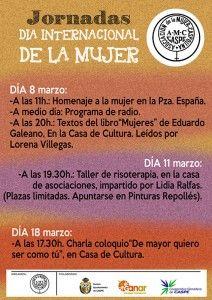 Mujer Caspolina - Actos Día Internacional de la Mujer