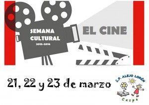 Semana Cultural Colegio Alejo Lorén Cartel