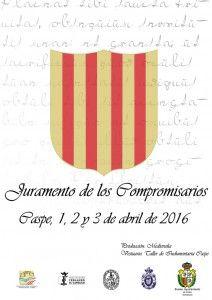 cartel juramento compromisarios
