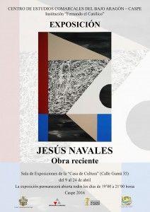 2016-04-09 CARTEL EXPOSICIÓN JESÚS NAVALES