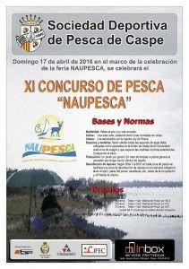 Cartel XI Concurso de Pesca Naupesca