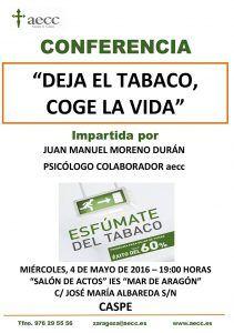 Conferencia Deja el Tabaco