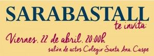 Sarabastall - Presentación Anuario Actividades 2015