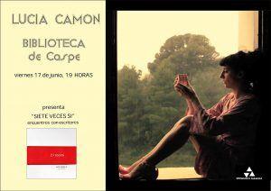 Biblioteca - Charla sobre poesía con Lucía Camón
