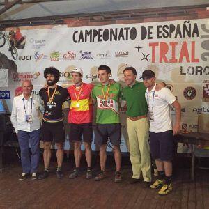 Abel Mustieles Campeón de España Trial 2016