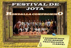 Festival Jota Rondalla Caspolina