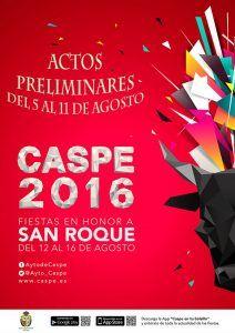 Actos Preliminares-Fiestas Caspe 2016 Web