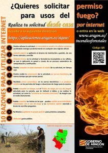 Cartel USO_FUEGO_INTERNET
