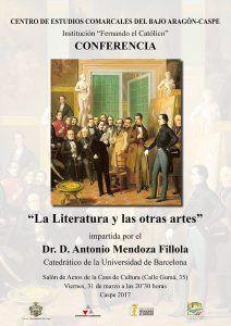 CECBAC - Conferencia La Literatura y las otras artes