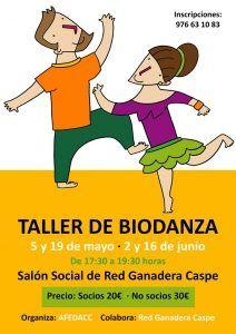 AFEDACC Taller Biodanza