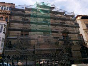 Obras fachada Ayuntamiento