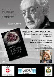 Presentación Libro Eliseo Bayo