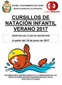 CARTEL CURSILLOS-DE-NATACIÓN-VERANO-2017