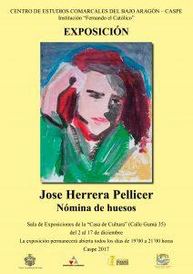 2017-12-02 CARTEL EXPOSICIÓN JOSE HERRERA