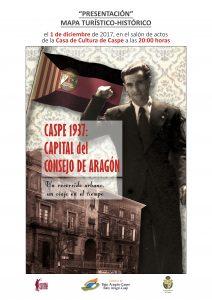 CARTEL MAPA CONSEJO DE ARAGON