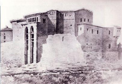 castillo grabado